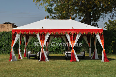 Artistic Wedding Tent