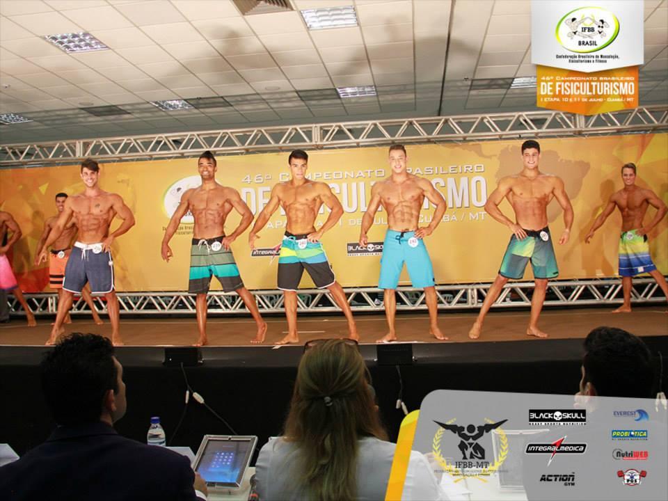 """""""Tive menos de uma semana de preparação para o Brasileiro"""", disse Tercio. Foto: IFBB Brasil"""
