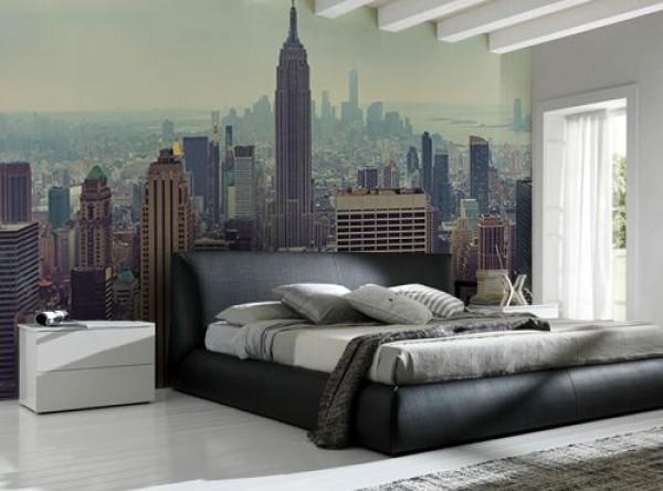 gökdelenler yatak odanızı süslesin