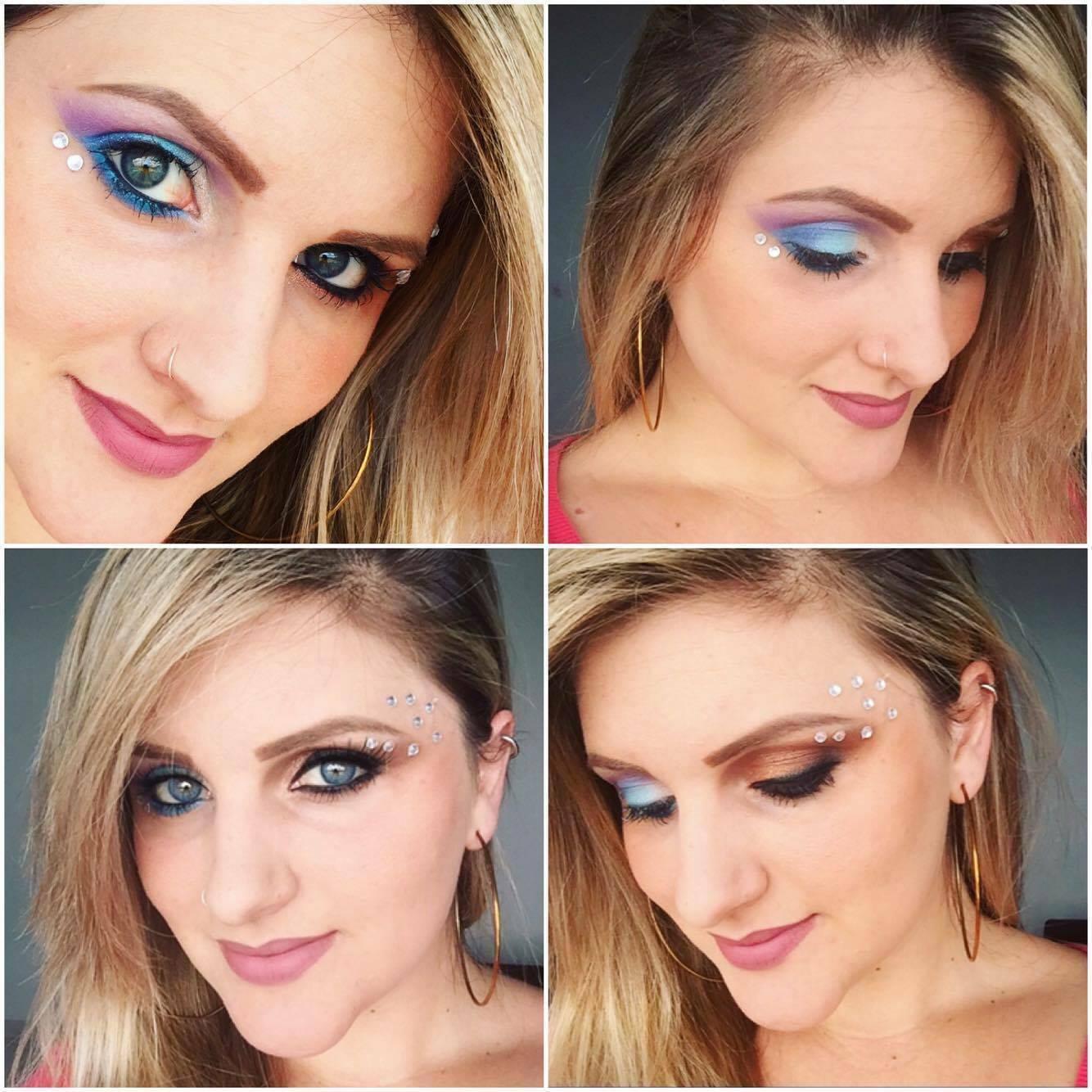 dica, inspiração de maquiagem para o carnaval ... maquiadora Mikaela Dinar