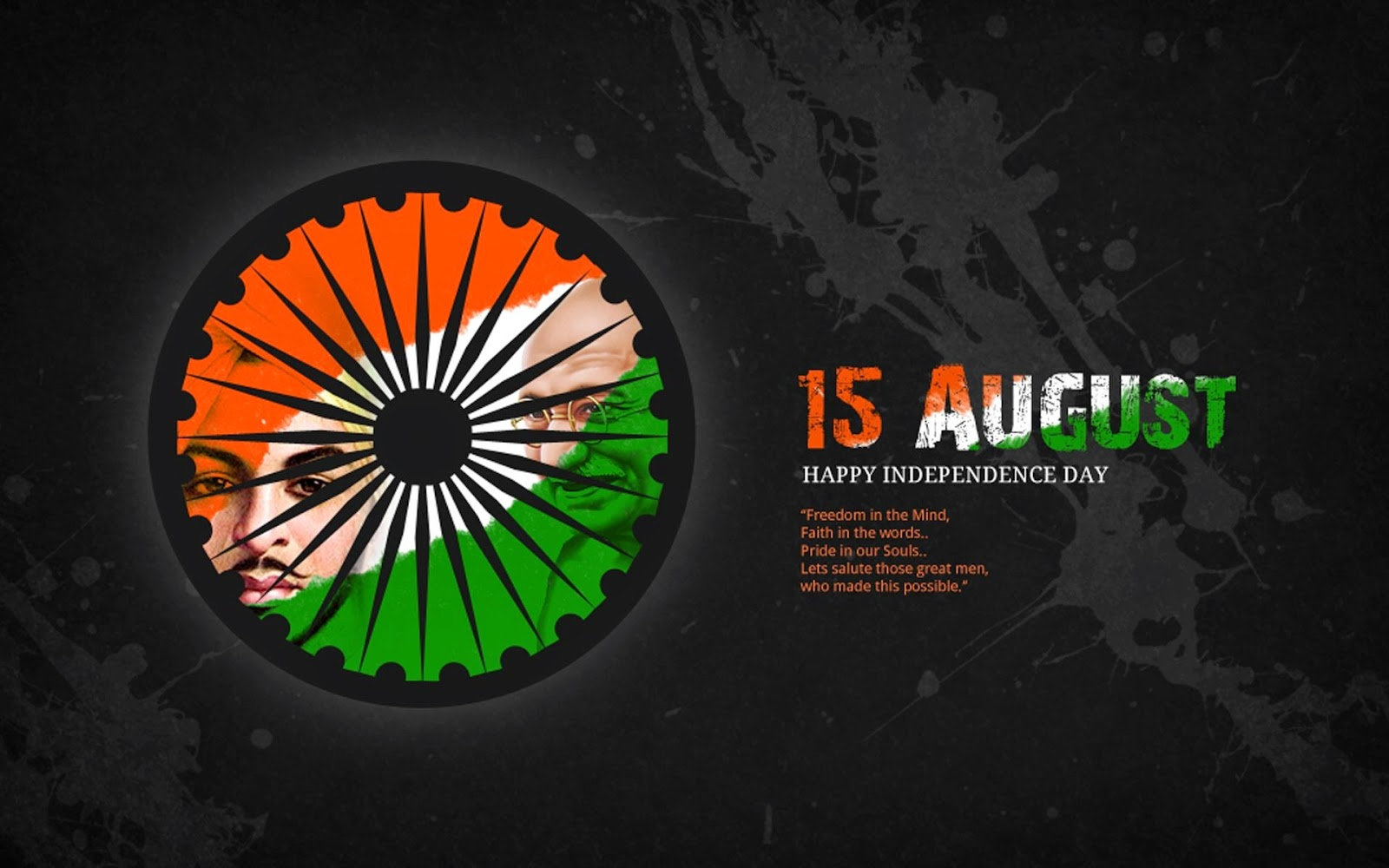 Happy Independence Day India messages images