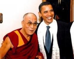 Obama y el Dalái Lama