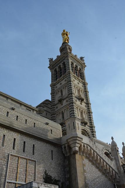 Basilica Notre-Dame de la Garde Marseille tower