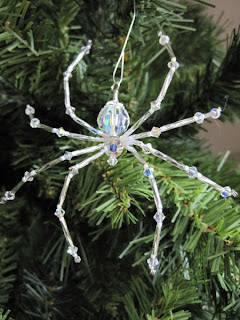 Christmas Tree Spider Ornament
