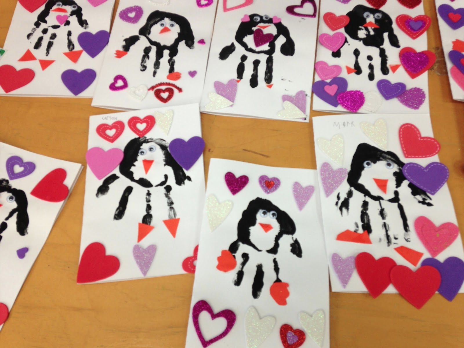 The kindergarten teacher a few more valentine 39 s for Preschool crafts for february