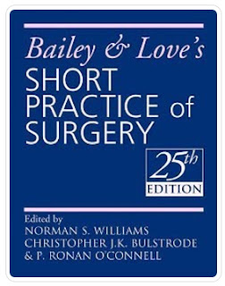 Bailey & Love's Short Practice of Surgery by Norman S. Williams 25th Edition PDF