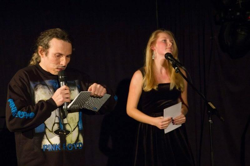 Fotka z mého posledního vystoupení v Opavě (23.11.2013)