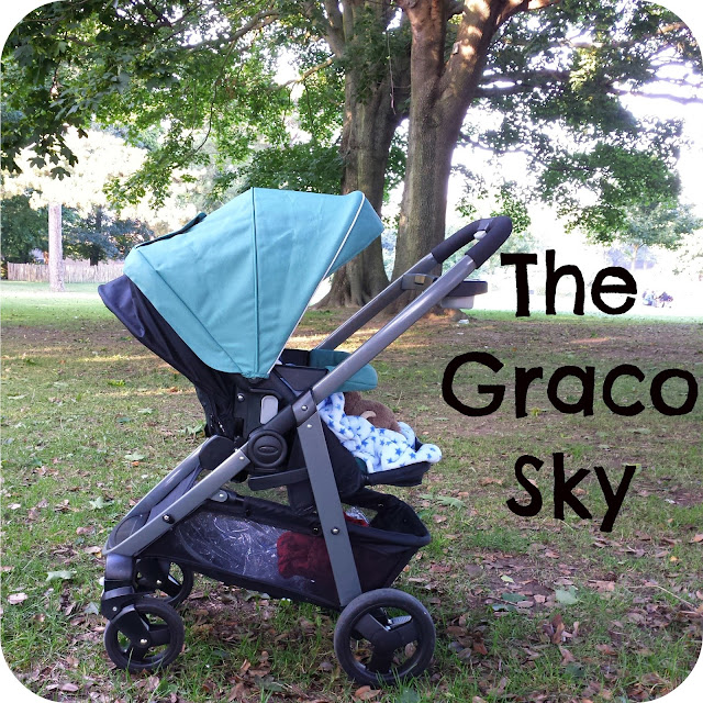 Graco sky, graco travel system, graco sky review, alpine green pushchair, travel system review