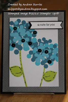 Upcycled card made with the front of a store-bought card.