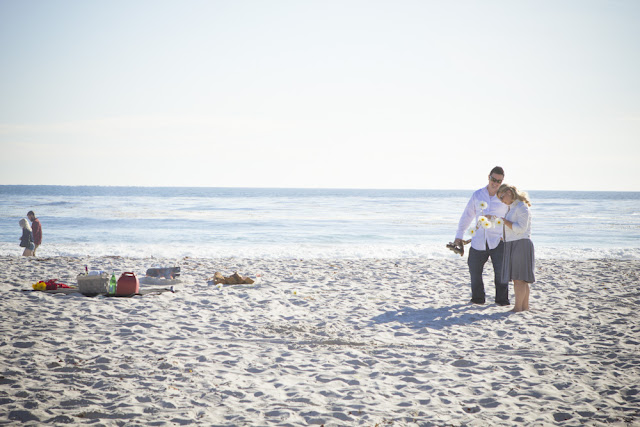 Carmel Beach Engagement Photography - Rachel Zee Weddings Portraits