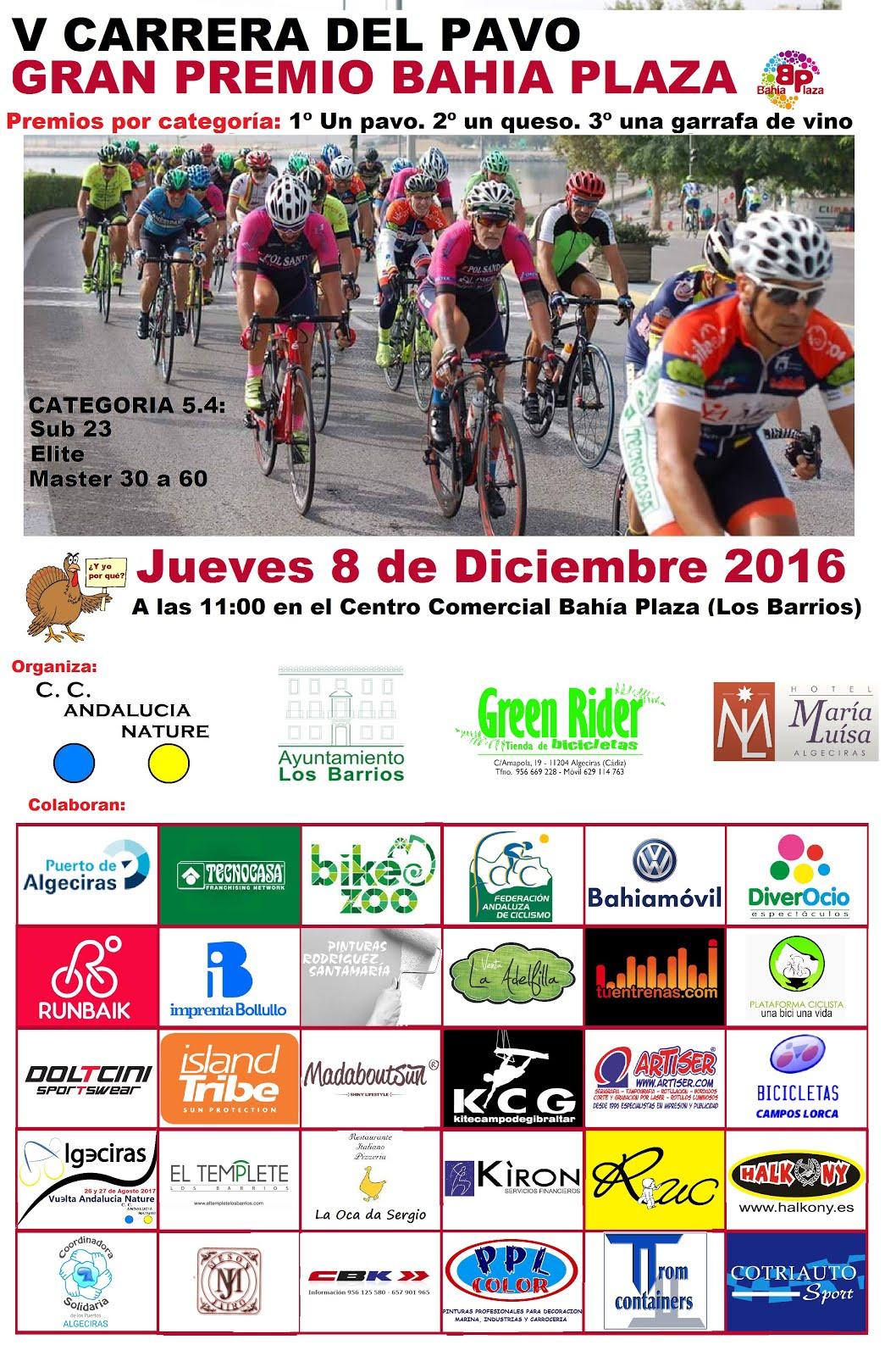 08/12 Ciclodeportiva del Pavo en Los Barrios