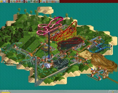 RollerCoaster-Tycoon-PC-Download-Completo-em-Torrent