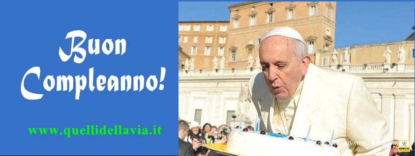 Top PIETRE VIVE: Il compleanno di Papa Francesco: Angelus, preghiere  KK49