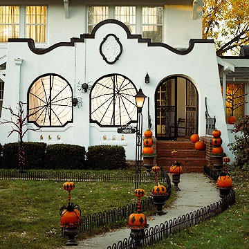 Inspire bohemia halloween decor for the outdoors for Home and garden halloween decorations