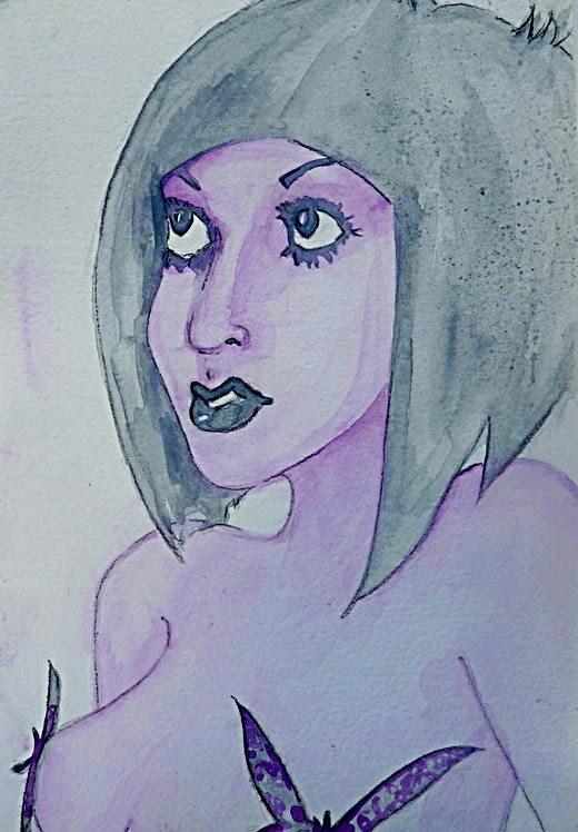 Whoopidooings: Carmen Wing - Neocolour ii Portrait #SummerofColorFour