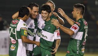 Oriente Petrolero - Festejo del gol de Mojica - DaleOoo.com web del Club Oriente Petrolero