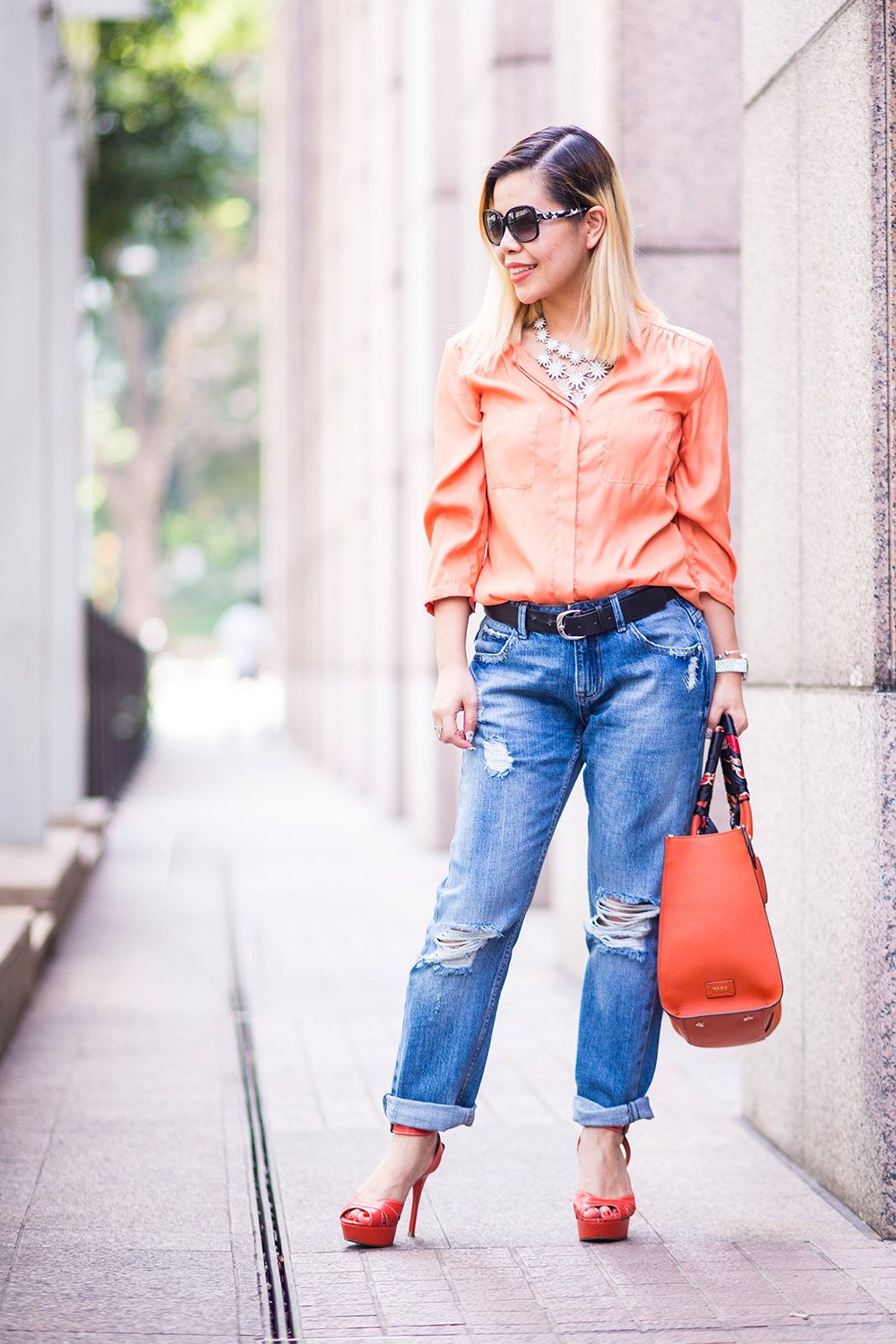 CrystalPhuong- Singapore Fashion Blog- How to wear boyfriend jeans?