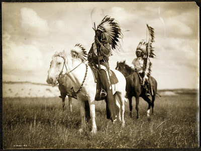 Sioux Chiefs, c.1905, Edward S. Curtis Collection