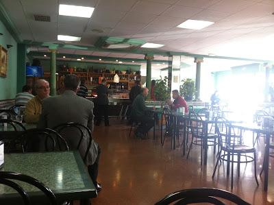 Almuerzos populares - Bar mutua del taxi de Valencia