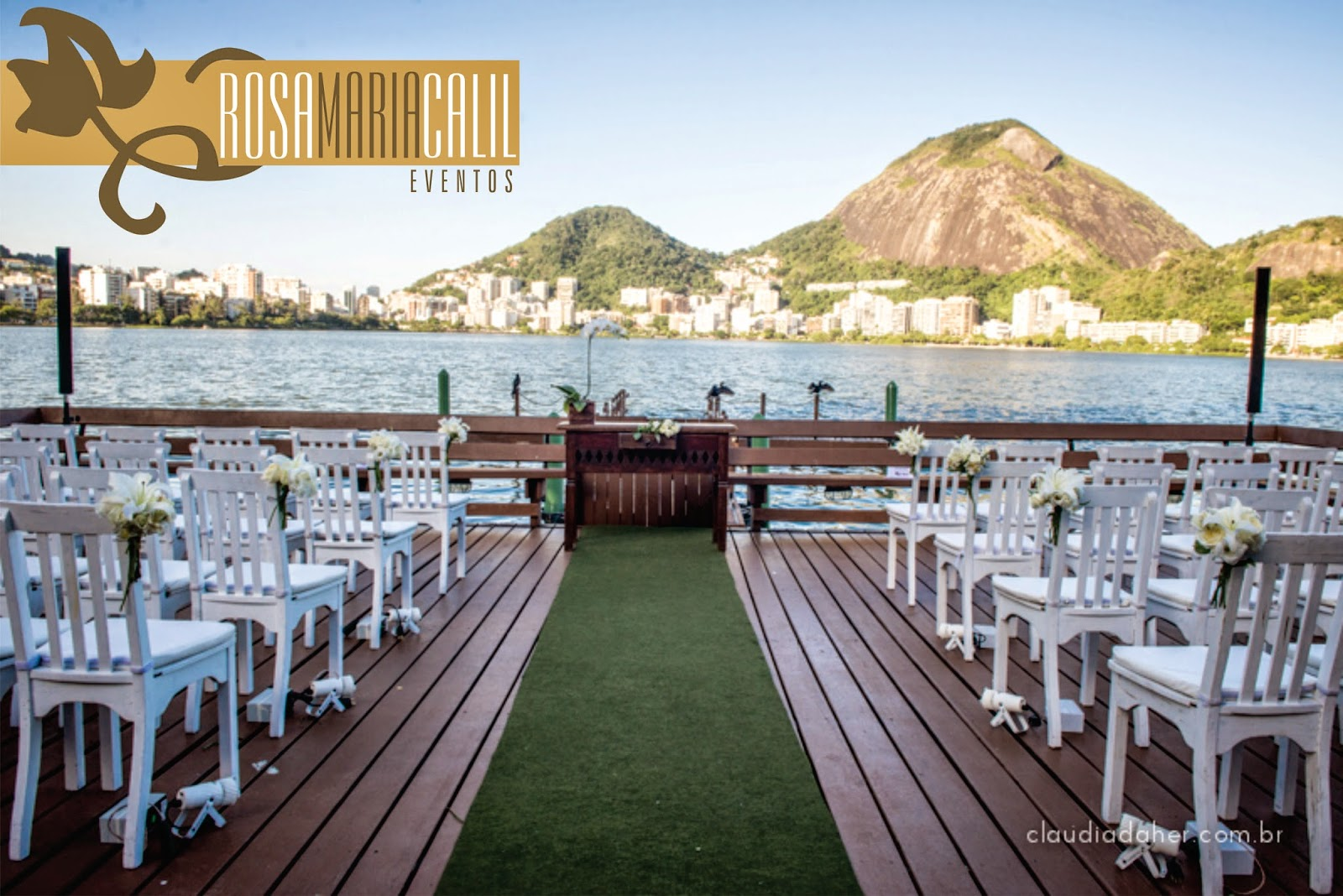 Casamento na lagoa (Deck Piraquê)