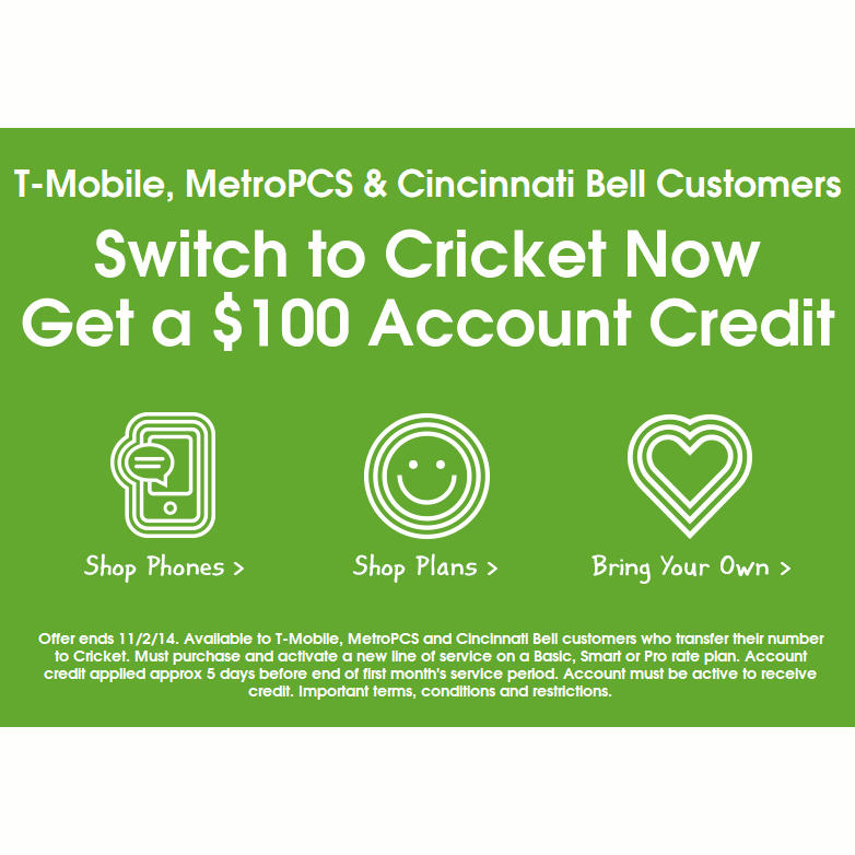 How to use Cricket Communications Coupons Cricket Communications is a prepaid cell phone service provider that has a number of minutes and data plans to choose from. They offer no contract service, no activation fees and free overnight shipping on every phone.