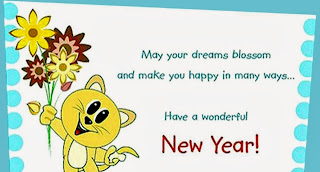 Cute Best New Year 2015 Greetings Cards