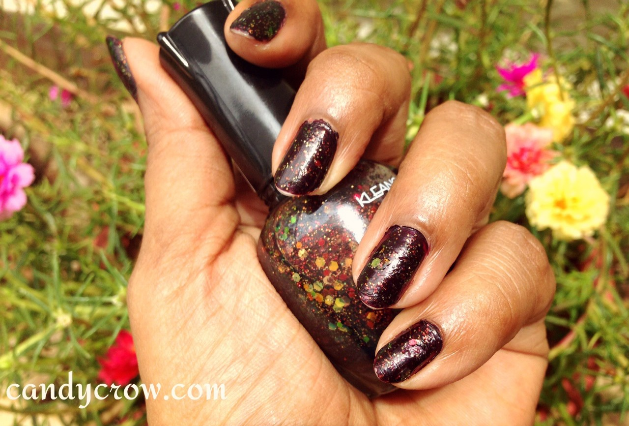 Kleancolor Chunky Holo Black review