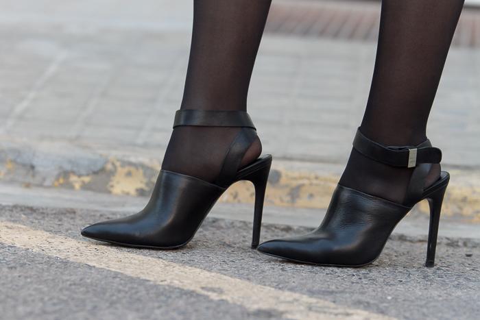 Tendencia mules inspiración Alexander Wang de blogger adicta a los zapatos