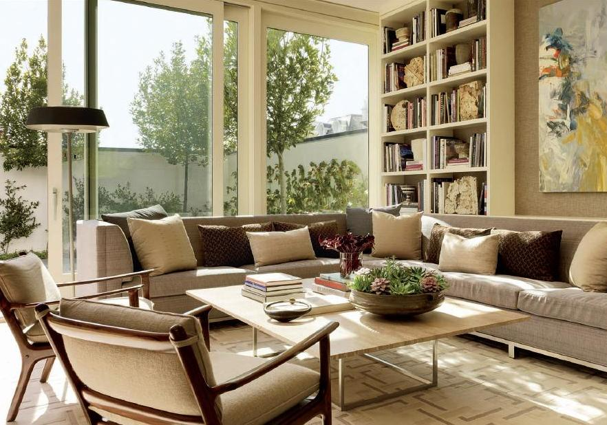Neutral Color Palette Living Room Ideas