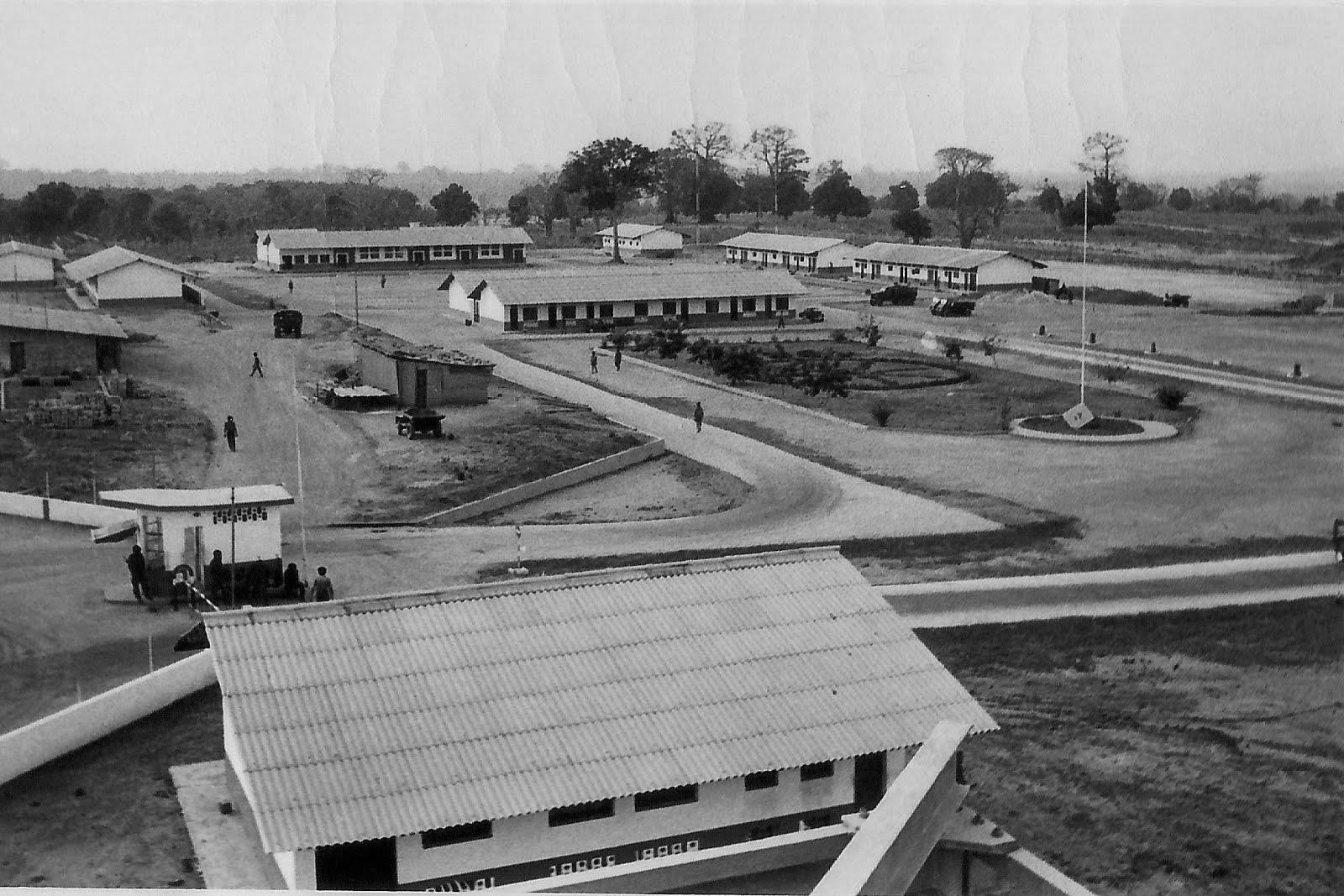 Agrupamento das TRMS, Stª Luzia - Bissau 1972
