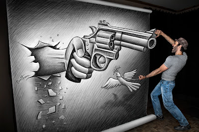 Ben Heine Art - Pencil Vs Camera 72 - 2013