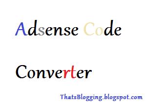 Adsense-Code-Generator