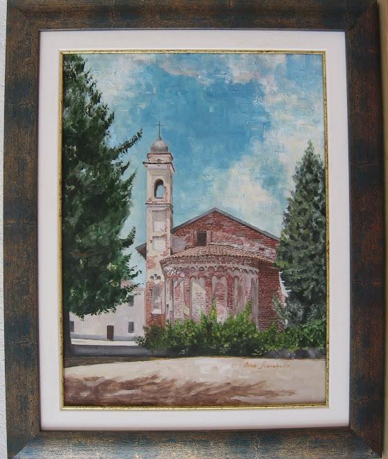La chiesa di San Rocco (l'abside)