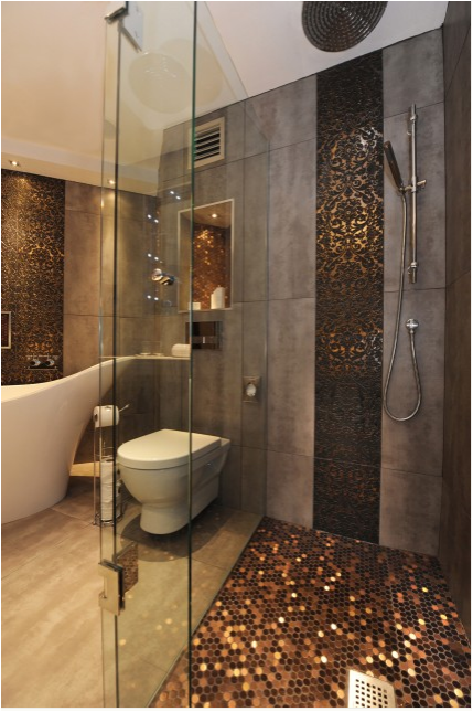 Great Penny Tile Bathroom Shower Floor 429 x 645 · 605 kB · png