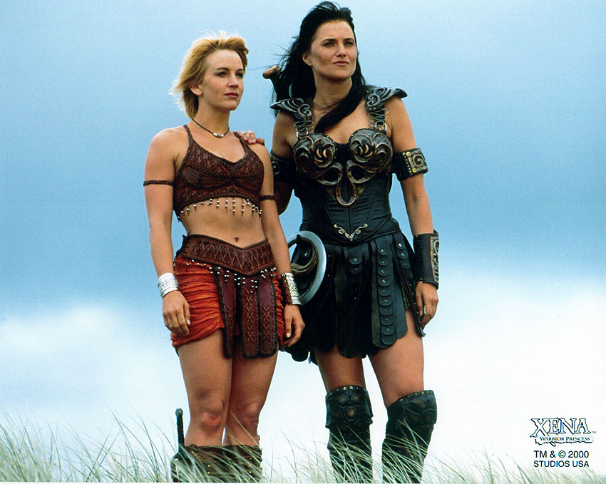 Gabrielle and xena warrior princess your place