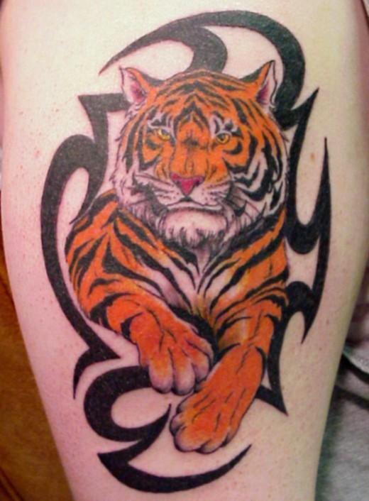 tiger tattoo designs japanese tattoos. Black Bedroom Furniture Sets. Home Design Ideas