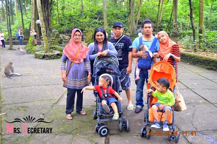 Percutian Ke Bali 2014 Part 6 Monkey Forest Tegalalang Rice Terrace