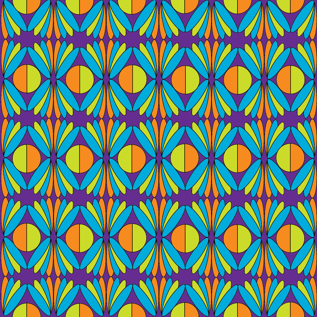 Principles Of Art Pattern : Principles of graphic art color pattern exercises