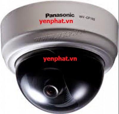 Lắp đặt Camera Panasonic WV-CF102E