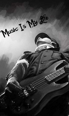 Music Is My Life Mobile Wallpaper Mobile Wallpapers Download