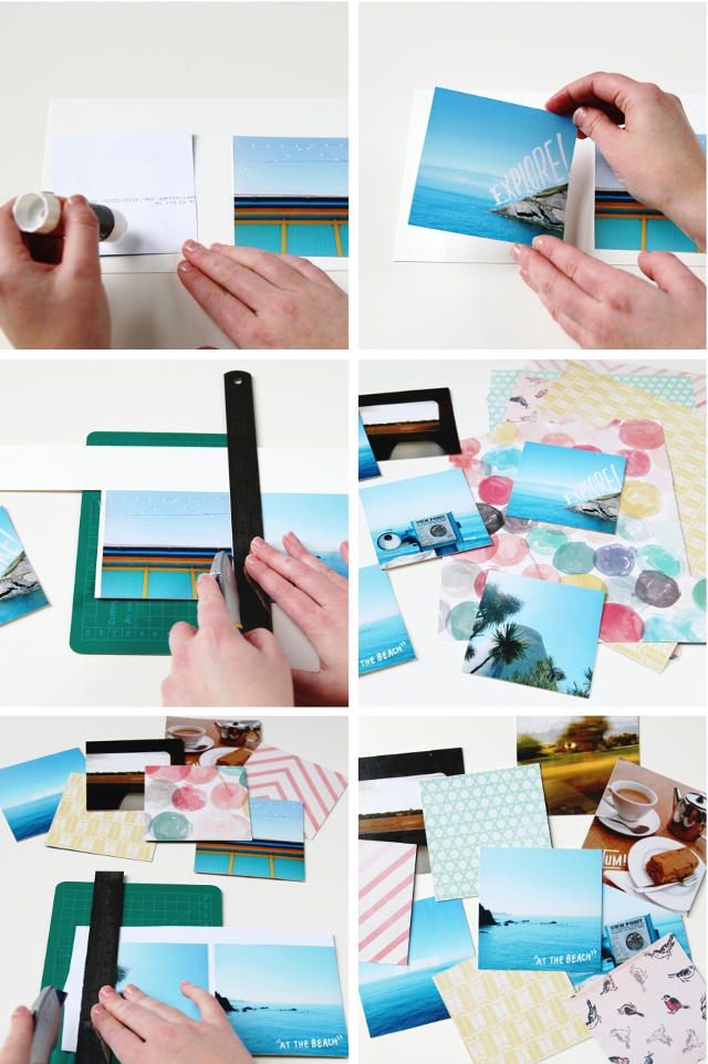 How to make your own Diy Instagram Mini Photo Album: www.gatheringbeauty.com/2014/10/diy-instagram-mini-album.html