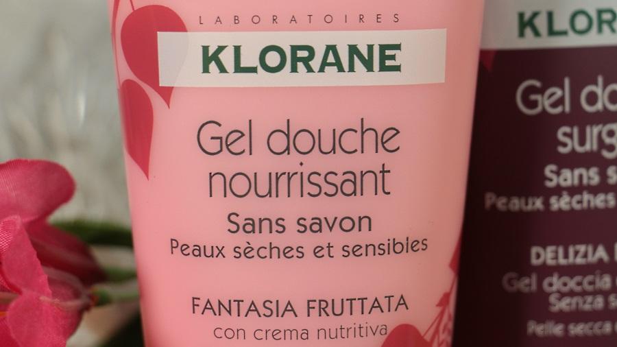 gel douche délice fruité klorane
