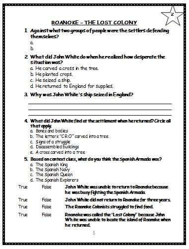 Printables Jamestown Worksheet colony worksheets davezan jamestown davezan