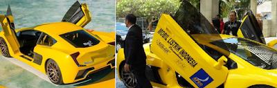 Mobil Listrik Karya Anak Indonesia