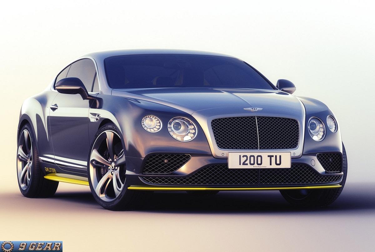 Bentley Continental GT Speed Breitling Jet Team Series ...