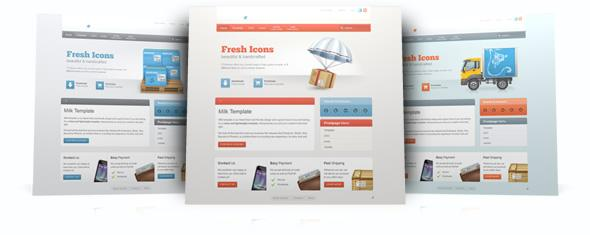 YooTheme Milk template for WordPress v5.5.9