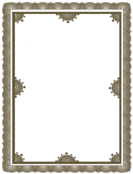 Marcos decorativos para diplomas - Imagui