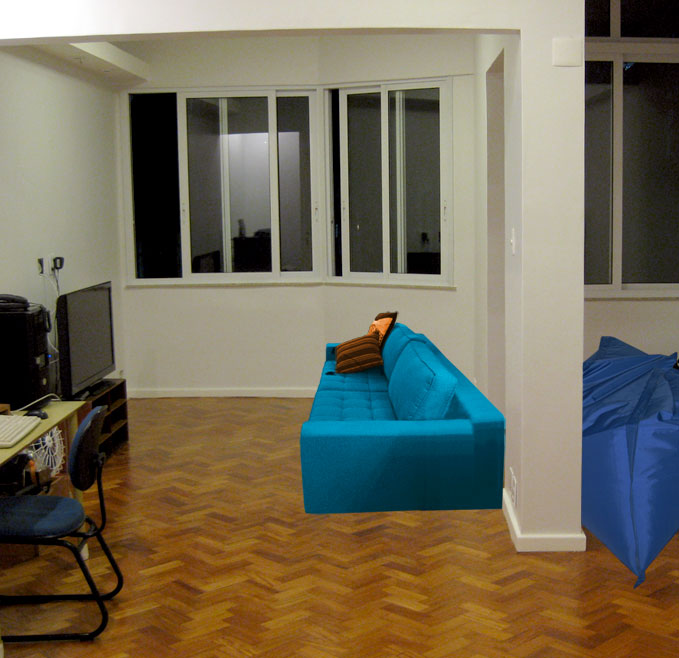 Reforma reforma comprando sof for Sofa azul turquesa