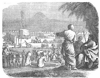 Moises vigila la construcción del Tabernáculo. Lacasamundo.com