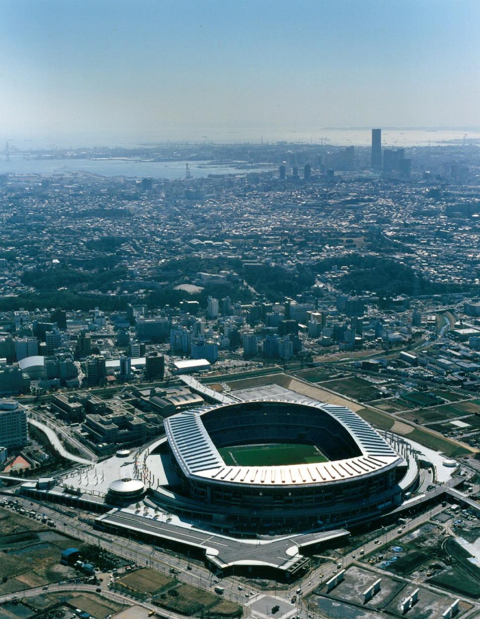 international stadium yokohama architettura